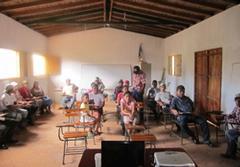 DIEGO GALAZ INAUGURA EL PROYECTO DE CONSTRUCCIÓN DE VIVIENDAS EN LA COMUNIDAD DE LAS TABLAS