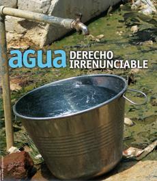 Agua, derecho irrenunciable