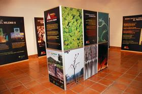 EL CENTRO NACIONAL DE EDUCACIÓN AMBIENTAL MUESTRA LA EXPOSICIÓN DE AMYCOS SOBRE CAMBIO CLIMÁTICO