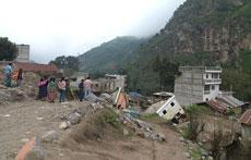 Atención a la emergencia a las comunidades rurales, en Guatemala, afectadas por la tormentas tropicales de mayo y septiembre de 2010