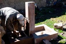 Dotación de sistemas de agua potable en dos comunidades rurales del municipio indígena de Cocapata