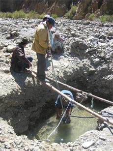 Dotación de agua potable para siete comunidades en el municipio de Morochata, Bolivia