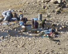 Dotación de Agua Potable a la comunidad de Sacha Sacha Centro