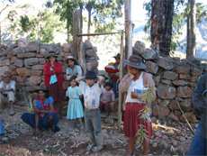 Dotación de agua potable a las comunidades de Vacas y Sacha Sacha