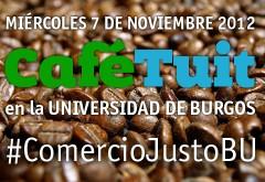PARTICIPA EN EL CAFÉ TUIT SOBRE COMERCIO JUSTO