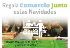COMPRAS NAVIDEÑAS DE COMERCIO JUSTO EN LA UNIVERSIDAD