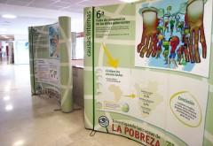 LA EXPOSICIÓN SOBRE LAS CAUSAS DE LA POBREZA LLEGA AL CAMPUS UNIVERSITARIO DE SORIA