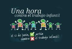 EL DÍA CONTRA EL TRABAJO INFANTIL SE CENTRA EN EL ÁMBITO DOMÉSTICO