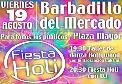 BARBADILLO DEL MERCADO ACOGE UNA FIESTA HOLI QUE SERVIRÁ PARA APOYAR LOS PROYECTOS DE AMYCOS EN BOLIVIA
