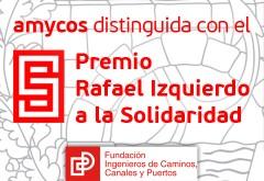 AMYCOS RECIBE EL PREMIO RAFAEL IZQUIERDO A LA SOLIDARIDAD