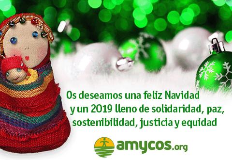 QUE EL 2019 VENGA LLENO DE SOLIDARIDAD, PAZ, JUSTICIA, SOSTENIBILIDAD Y EQUIDAD