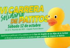 ¡VUELVE LA CARRERA DE PATITOS DE GOMA POR EL ARLANZÓN!