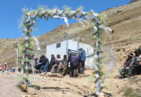 Dotación de un sistema de agua potable a la comunidad indígena Palta Loma del municipio de Colomi (Distrito 2), provincia Chapare, departamento de Cochabamba (Bolivia)