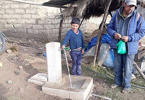Dotación de agua potable a la comunidad indígena quechua de Jatún Rumi – Sector Pararani, municipio de Colomi, Bolivia