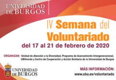 AMYCOS PARTICIPA EN LA IV FERIA DE VOLUNTARIADO DE LA UBU
