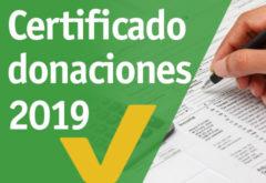 CERTIFICADOS DE DONACIONES