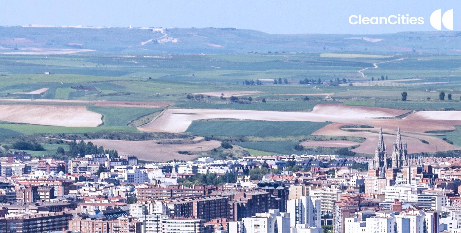 Burgos desde el aire