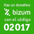Haz un donativo con Bizum
